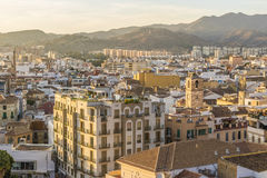 Malaga, Spain. Malaga is a municipality, capital of the Province of Málaga, in the Autonomous Community of Andalusia, Spain Stock Image