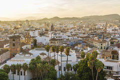 Malaga, Spain. Malaga is a municipality, capital of the Province of Málaga, in the Autonomous Community of Andalusia, Spain Royalty Free Stock Photos