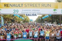 39 Carrera urbana Ciudad de Malaga Royalty Free Stock Image