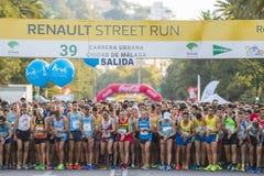 39 Carrera urbana Ciudad de Malaga Stock Photos