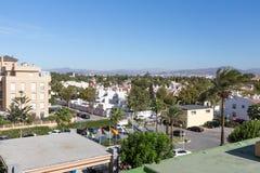Malaga, SPAIN - SEPTEMBER 4, 2014: Churianna Guadalmar, Malaga district Royalty Free Stock Photos