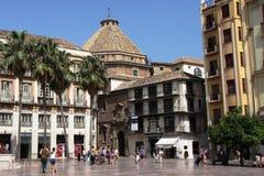 Malaga, Spain. Spanish seaside town of Malaga Royalty Free Stock Photo