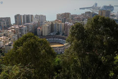 Malaga Royalty Free Stock Photo