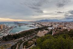Malaga, Spain Royalty Free Stock Images