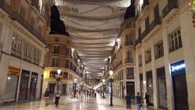 Malaga Spanien Fotografering för Bildbyråer