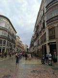 Malaga Spanien royaltyfri fotografi