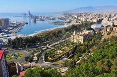 Malaga, Spanje stock afbeeldingen
