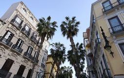Malaga Spian Cityscape Day Royalty Free Stock Photo
