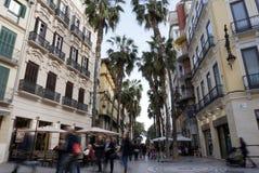 Malaga Spian Cityscape Day Royalty Free Stock Photography