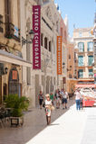 Malaga streets, Spain Royalty Free Stock Photo