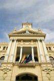 Malaga Town Hall Royalty Free Stock Photo