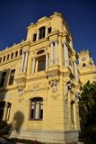 Malaga Town Hall. Located next to the port Royalty Free Stock Photo
