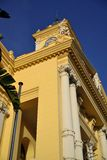 Malaga Town Hall. Located next to the port Stock Photography