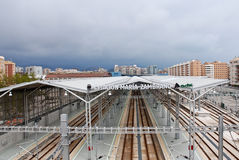 Malaga Train Station Royalty Free Stock Image