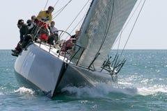 malaga wyścigi jachtów Hiszpanii Fotografia Stock