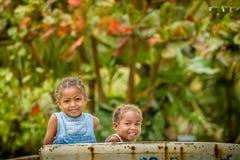 Malagasy κορίτσια Στοκ εικόνες με δικαίωμα ελεύθερης χρήσης