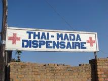 malagasy apotek Arkivbilder