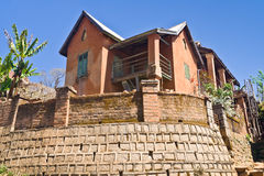malagasy arkitektur Royaltyfri Bild