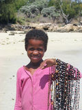 malagasy barn Arkivfoton