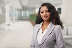 Malagasy business woman Stock Image