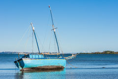 Malagasy dhow Royalty Free Stock Photos