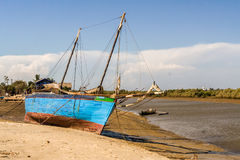 Malagasy dhow Stock Photography