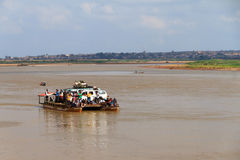 Malagasy ferry Stock Image