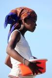 malagasy flicka Arkivbild