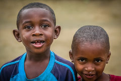 Malagasy friends Stock Photography
