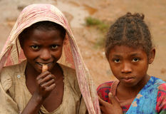 Malagasy girls Royalty Free Stock Image
