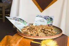 Malagasy godiskokosnöt som gör Arkivfoton