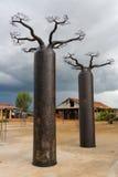 malagasy hemslöjd Arkivbilder