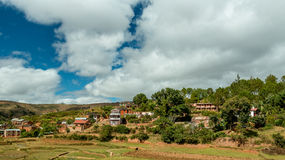 Malagasy homes Stock Images