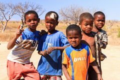 Malagasy kids Royalty Free Stock Photography
