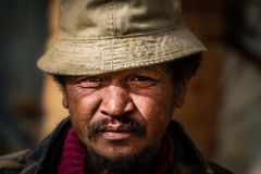 Malagasy man portrait Royalty Free Stock Photos