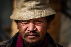 Malagasy man portrait Royalty Free Stock Photos