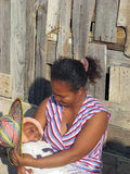 Malagasy mother and her baby Royalty Free Stock Image