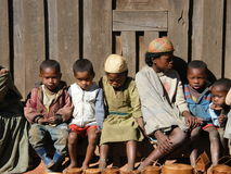 Malagasy Native Children Stock Photography