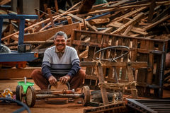 Malagasy repair man Royalty Free Stock Photography