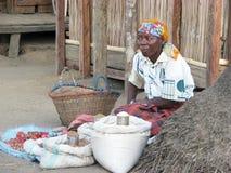 malagasy säljare Royaltyfri Bild