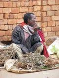 malagasy säljare Arkivfoto