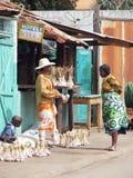 malagasy säljare Arkivfoton