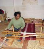 malagasy textil för konst Royaltyfria Bilder