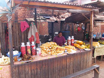Malagasy vendor Royalty Free Stock Photo