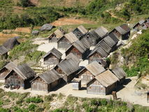 Malagasy Village Royalty Free Stock Image