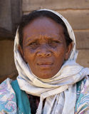 Malagasy woman Royalty Free Stock Images