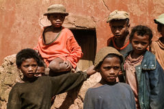 Malagasy young boys Royalty Free Stock Photos