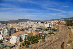 Malage Beyond Alcazaba Royalty Free Stock Image