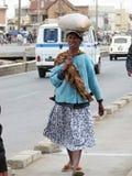 malagsy kobieta Zdjęcie Stock