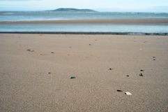 Malahide beach. Ireland Stock Photography